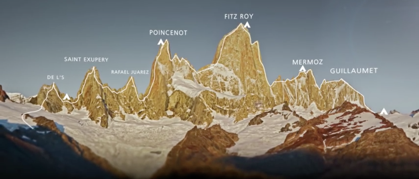 The Fitz Roy Traverse