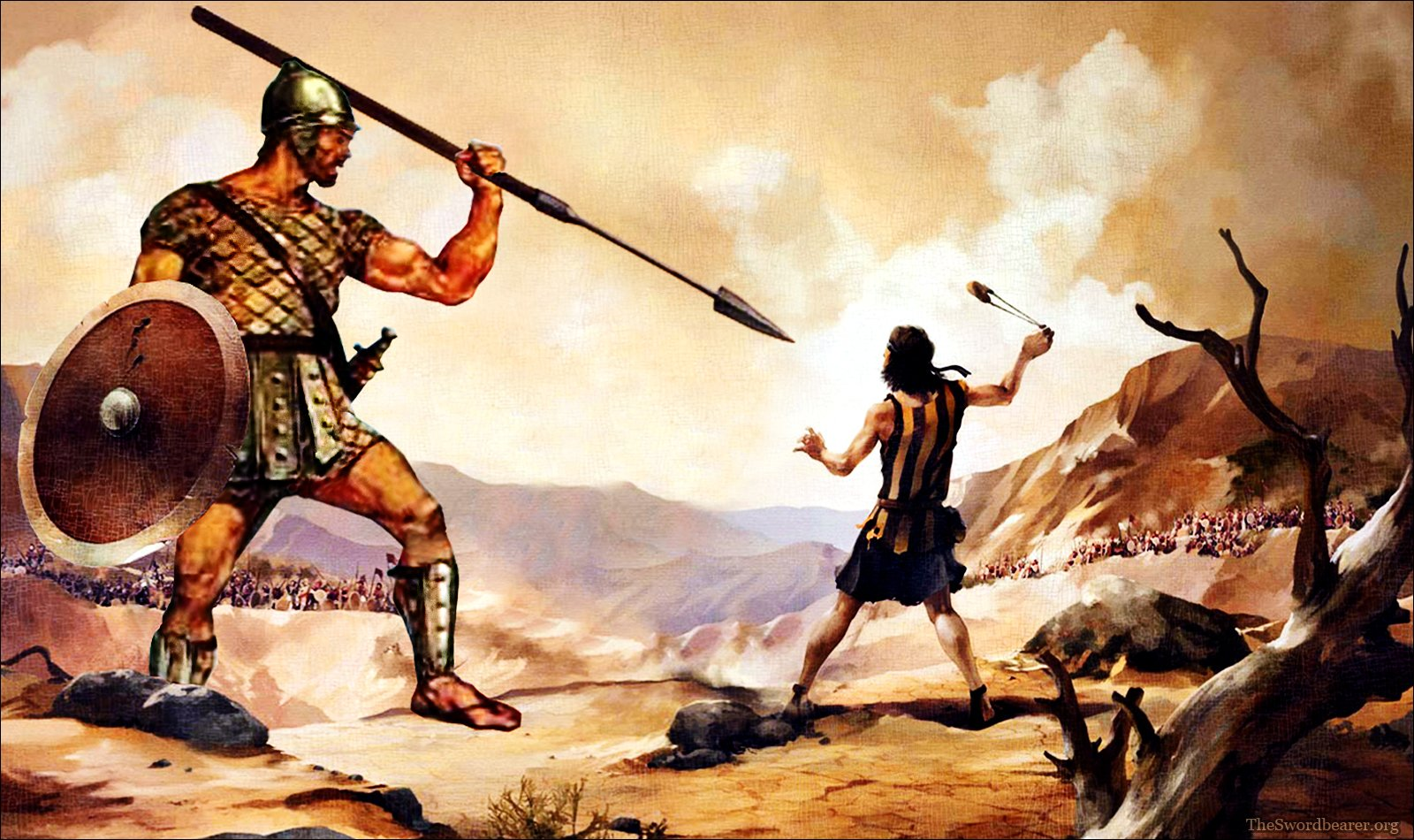 Stop Fighting Like Goliath